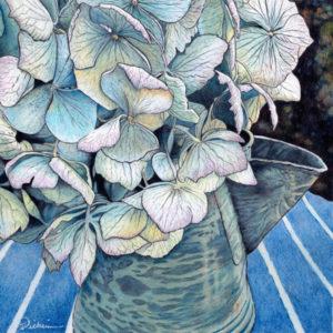 Rustic Blues by Rhonda Dicksion