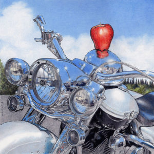 Still Life with Harley by Rhonda Dicksion